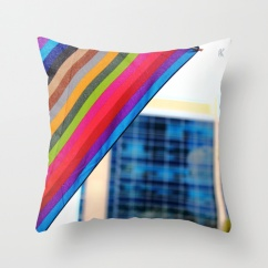 Rain.Art Colorblock Show| pillow