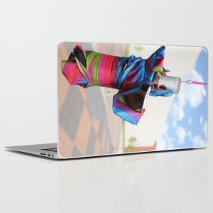 Rain.Art Colorblock| laptop skin